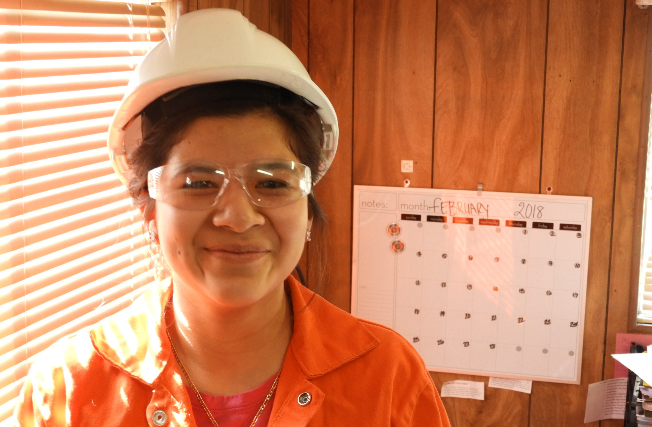 Miriam Meyo, HR assistant/translator, Rochester Metal Products, Rochester, Indiana